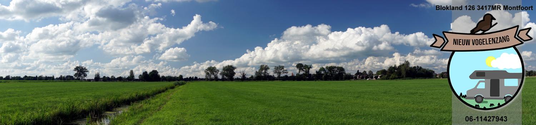 Camperplaats Nieuw Vogelenzang te Montfoort